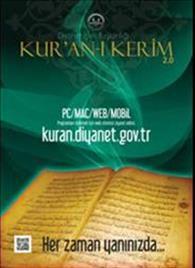 Diyanet Kuran-ı Kerim afiş