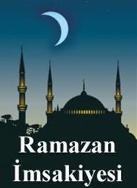 2016 Yılı Ramazan İmsakiyesi