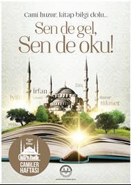 Camiler Haftası Afiş 2016