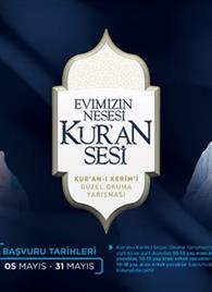 """Diyanet'ten çocuklar için """"Kur'an-ı Kerim'i Güzel Okuma Yarışması"""""""