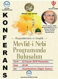 konferans afiş