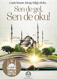1-7 Ekim 2016 Camiler ve Din Görevlileri Haftası