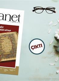 Afiş; Diyanet Aylık Dergi Ağustos Sayısı Okurlarla Buluştu
