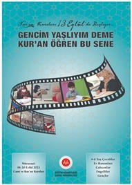 Afiş, 2021-2022 Eğitim ve Öğretim Yılı Kur'an Kursu Afişleri