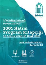 1001 Hatim Program Kitapçığı