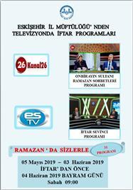 RAMAZAN TV PROGRAMLARI
