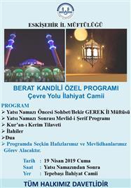 BERAT KANDİLİ ÖZEL PROGRAMI