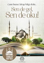 camiler haftası afişi