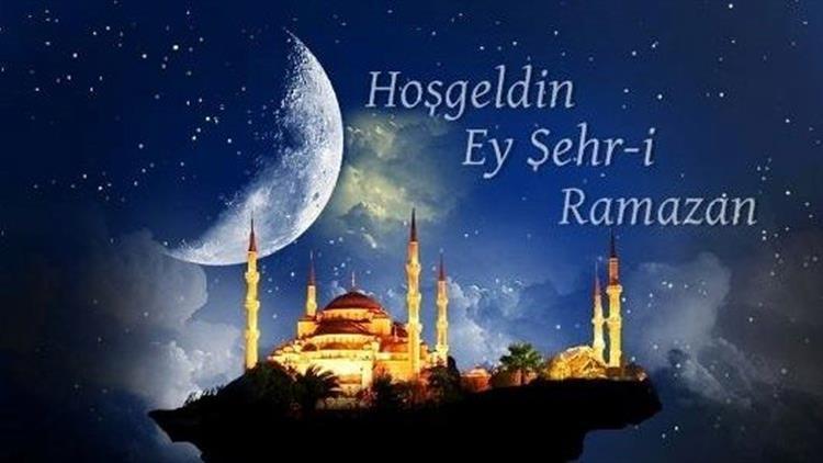 Ramazan ayımız kutlu olsun.
