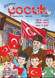 Diyanet Çocuk Dergisi Ağustos Sayısı Çıktı