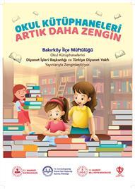 Bakırköy Müftülüğü Okul Kütüphanelerini Zenginleştiriyor