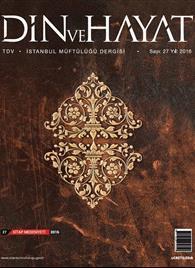 Küçük Afiş İstanbul Din ve Hayat Dergisi