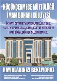 İmam Buhari Külliyesi Afiş