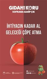 Gıdanı Koru Sofrana Sahip Çık Kampanyası