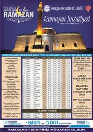 2019 ramazan imsakiyesi