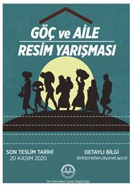 göç ve aile tamalı yarışma (küçük afiş)