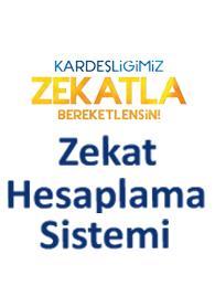 Türkiye Diyanet Vakfı Zekat Hesaplama Sistemi