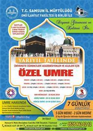 19 mayıs üniversitesi ÖZEL UMRE Programı