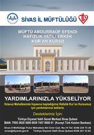 MÜFTÜ ABDURRAUF EFENDİ HAFIZLIK KUR'AN KURSU