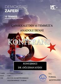 15 TEMMUZ AFİŞ