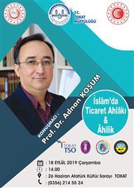 İSLAMDA TİCARET AHLAKI & AHİLİK (Küçük Afiş)
